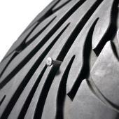 Kit de réparation pneu crevaison auto moto voiture véhicule 36 pièces + coffret
