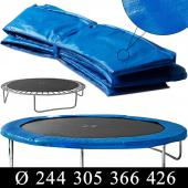 Trampoline - Protège ressort, coussin - Différentes dimensions