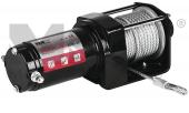 Treuil électrique 12V Traction 900kg + 2 Télécomandes + Câble