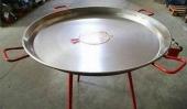 Kit paella Ø 90cm - Bruleur Ø 70cm