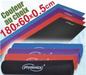 Tapis natte de gymnastique fitness antidérapant 180x60x0,5 cm plusieur