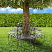 Banc de jardin pour arbre 360°