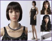 Mannequin Femme Trent + perruques