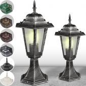 Lampadaire jardin lanterne lampe éclairage luminaires d'extérieur CHOIX COULEURS