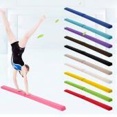 7FT Suede Pliant Poutre Gymnastique Gym Équipement de Formation