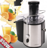 Mixeur presse-fruits en acier inoxydable 850 watts