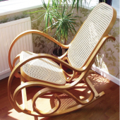 Rocking chair - blanc