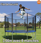 Filet de sécurité 3,66m