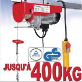 Palan electrique - 230V - 400Kg