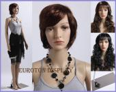 Mannequin Femme Colle + perruques