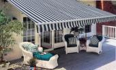 Store banne de terrasse 300x250 cm aluminium renforcé