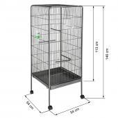 Volière cage à oiseaux - 146x54x54cm