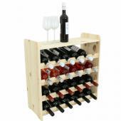 Range bouteille - casier a 24 bouteille -  63x63x26cm