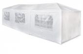 Tente de reception 3x9 m 8 côtés démontables fenêtres Chapiteau