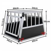 Cage de transport chien - 54x69x50cm (trapézoïdal)