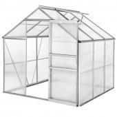 Serre de jardin polycarbonate - 3,70m²