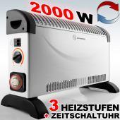 Convecteur électrique - Chauffage D'Appoint Électrique - 2000W