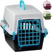 Cage De Transport Pour Chien Et Chat - 50X33X32Cm - Porte Verrouillable