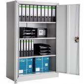 Armoire metallique - 4 étagères (30kg) - 140x90x40cm