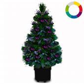 Sapin de Noël avec jeu de couleur - 9 effets d'éclairage différents! 9