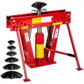 Cintreuse-Presse à cintrer hydraulique - 12 T + 6 matrices #FE