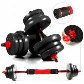 Kit d'Haltère Musculation 2 en 1