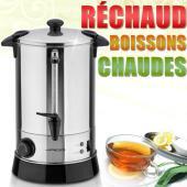 Bouilloire réchaud boissons chaudes thé marmite vin chaud 6,8 litres a