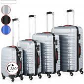 Set 4 valises rigides 4 roues