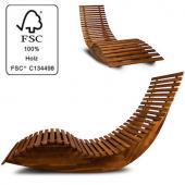 Transat bois ergonomique