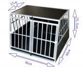 Cage transport chien - 96x90x70cm
