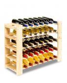 Range bouteille - casier a 35 bouteilles -  65x63x26cm