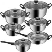 Batterie de cuisine - 12 pieces