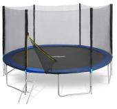 Trampoline 4,30m avec filet de protection et échelle