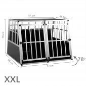 Cage transport chien - 97x90x70cm