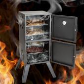 Fumoir vitre charbon - Thermomètre