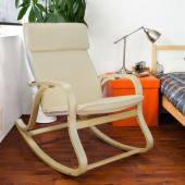 Rocking-chair - fauteuil beige