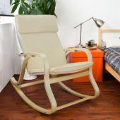 Rocking-chair - fauteuil beige