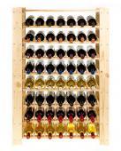 Range bouteille - casier a 56 bouteille -  110x80x30cm