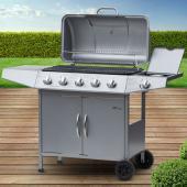 Barbecue gaz nox 5+1 brûleurs