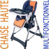 Chaise haute de bébé pour enfants grand confort