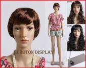 Mannequin Femme Trist + perruques