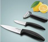Ensemble de couteaux en céramique 3 pcs cuisine chef légumes éplucheur