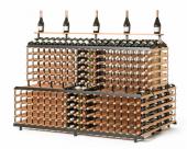 Rangement 720 bouteilles XXL