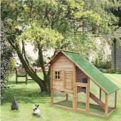 Cage a lapin Clapier en Bois XXL Rongeur