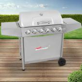 Barbecue Gaz - 6 feux