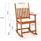 Rockincher - chaise bois