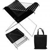 Barbecue portable avec sac de transport - Idéal pour la route