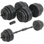 Haltère Fitness 30 Kg Reglable