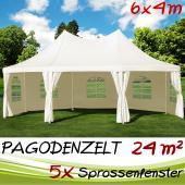Chapiteau, Pavillon de Jardin 6x4m