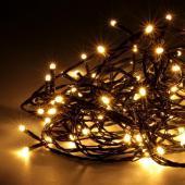Guirlande lumineuse lampe LED ruban décoration noel jardin BLANC CHAUD